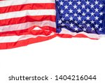 american national flag isolated ... | Shutterstock . vector #1404216044