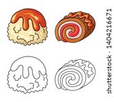 vector design of confectionery... | Shutterstock .eps vector #1404216671