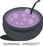 magic soup of witch... | Shutterstock .eps vector #1404221177