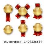 award medal 3d realistic vector ... | Shutterstock .eps vector #1404236654
