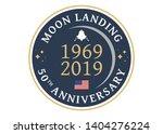 logo for the 50th anniversary... | Shutterstock .eps vector #1404276224