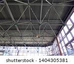 modern metal architectural... | Shutterstock . vector #1404305381