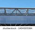 modern metal architectural... | Shutterstock . vector #1404305384