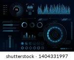 futuristic hud user interface....   Shutterstock .eps vector #1404331997
