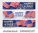 usa independence day. three... | Shutterstock .eps vector #1404342137