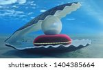 mother of pearls underwater.... | Shutterstock . vector #1404385664
