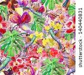 Seamless Watercolor Pattern ...