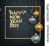 happy new year 2020 year of the ...   Shutterstock .eps vector #1404415991