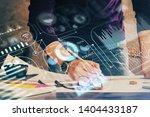 close up of human hands...   Shutterstock . vector #1404433187