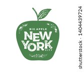 new york city typography design.... | Shutterstock .eps vector #1404439724