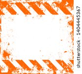 traffic and caution warning... | Shutterstock .eps vector #1404445367