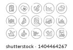 charts and graphs line icons.... | Shutterstock .eps vector #1404464267