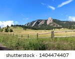 The Flatirons   Rock Formations ...