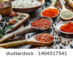 spices and seasonings for... | Shutterstock . vector #1404517541