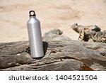 An Aluminium Drinking Bottle...