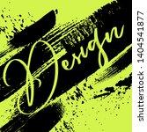 design template. vector grunge...   Shutterstock .eps vector #1404541877