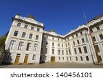 Courtyard Of Honor In Prague...