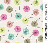 seamless abstract floral... | Shutterstock .eps vector #1404563141