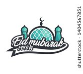 logo design ramadan mubarak... | Shutterstock .eps vector #1404567851