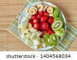 Bowl Of Fruit Prepared For...