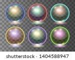 set of vector realistic... | Shutterstock .eps vector #1404588947