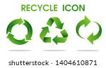 recycle arrow symbol means... | Shutterstock .eps vector #1404610871