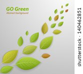 go green abstract background.... | Shutterstock .eps vector #140462851