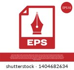 red eps file document icon.... | Shutterstock .eps vector #1404682634