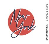 typography new york city t... | Shutterstock .eps vector #1404714191