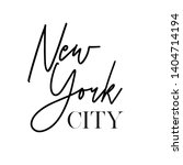 typography new york city t... | Shutterstock .eps vector #1404714194