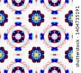 tibetan fabric. abstract batik... | Shutterstock . vector #1404735191