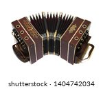 Vintage Retro Music Accordion...