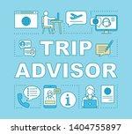 trip advisor word concepts...