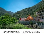 Stock photo a temple in the himalayan mountain the temple is known as kainchi dham 1404772187