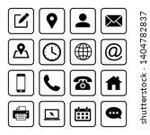 web icons set. web design... | Shutterstock .eps vector #1404782837