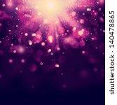 violet festive christmas... | Shutterstock . vector #140478865