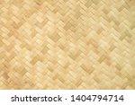 Yellow Bamboo Weave Pattern...