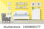 interior background with... | Shutterstock .eps vector #1404800177