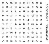 web icon set. set of web icon... | Shutterstock .eps vector #1404800777
