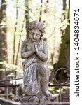 sorrow angel sculpture white... | Shutterstock . vector #1404834071