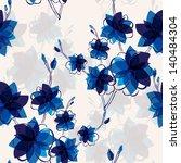 elegant seamless pattern with... | Shutterstock .eps vector #140484304