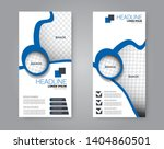 flyer template. vectical banner ... | Shutterstock .eps vector #1404860501