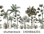 beautiful tropical vintage... | Shutterstock .eps vector #1404866201