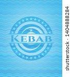 kebab light blue water badge... | Shutterstock .eps vector #1404888284
