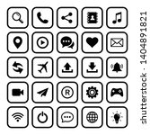 web icon set symbol vector. for ...
