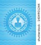 graduated icon inside sky blue...   Shutterstock .eps vector #1404901244