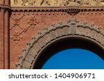triumphal arch in the city of... | Shutterstock . vector #1404906971
