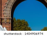 triumphal arch in the city of... | Shutterstock . vector #1404906974