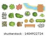 flat vector set of landscape...   Shutterstock .eps vector #1404922724