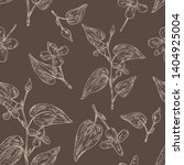 seamless pattern with... | Shutterstock .eps vector #1404925004